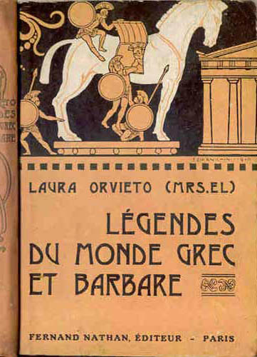 Légendes du Monde grec et barbare, 1930. Type 1. Illustrateur : Ezio Anichini