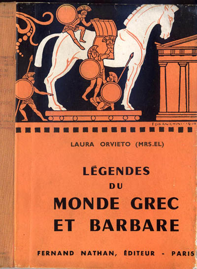 Légendes du Monde grec et barbare, 1955. Type 2. Illustrateur : Ezio Anichini